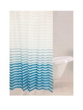 Sabichi Azul Stripe Shower Curtain - 179258
