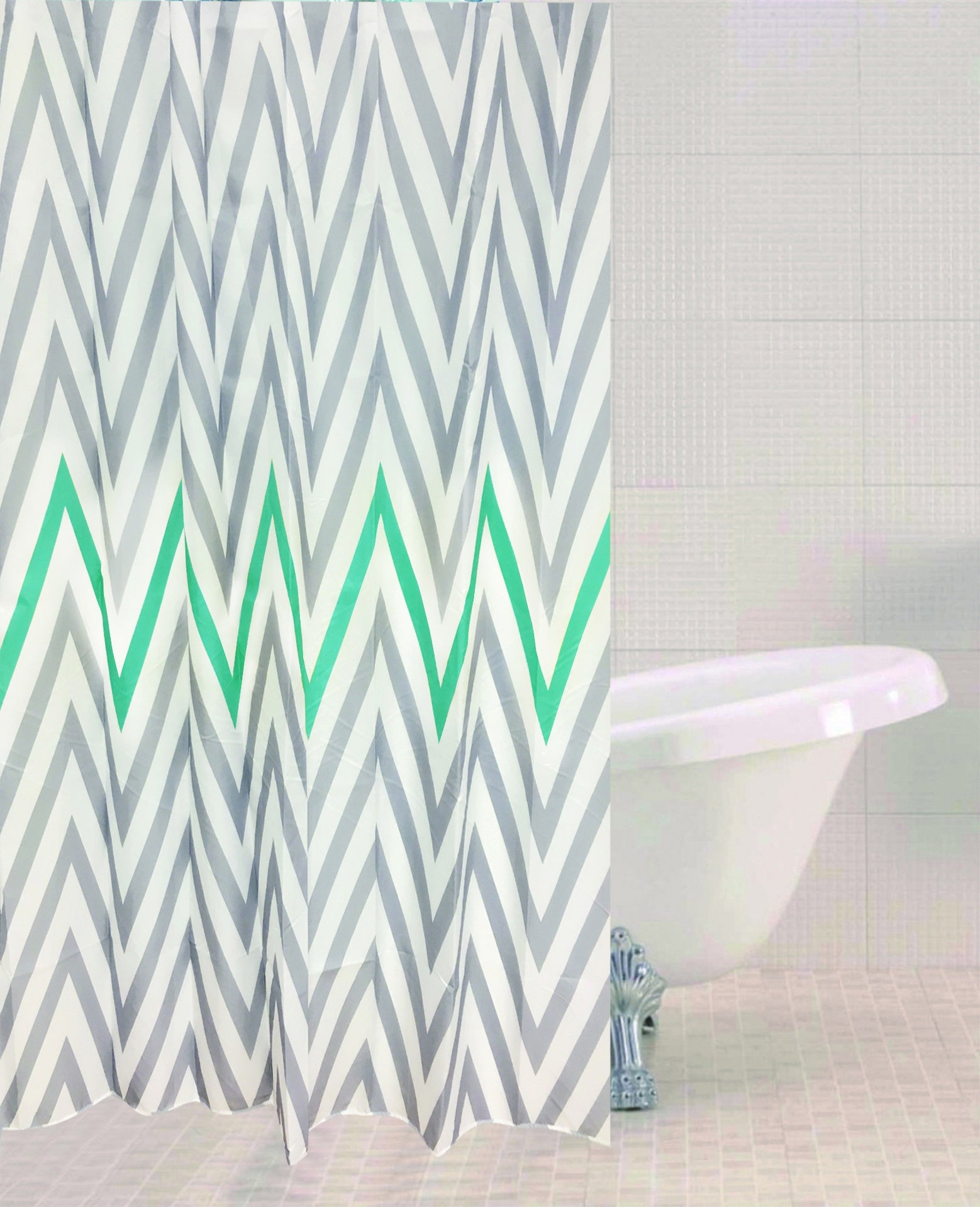 Sabich Chevron Shower Curtain - 179487