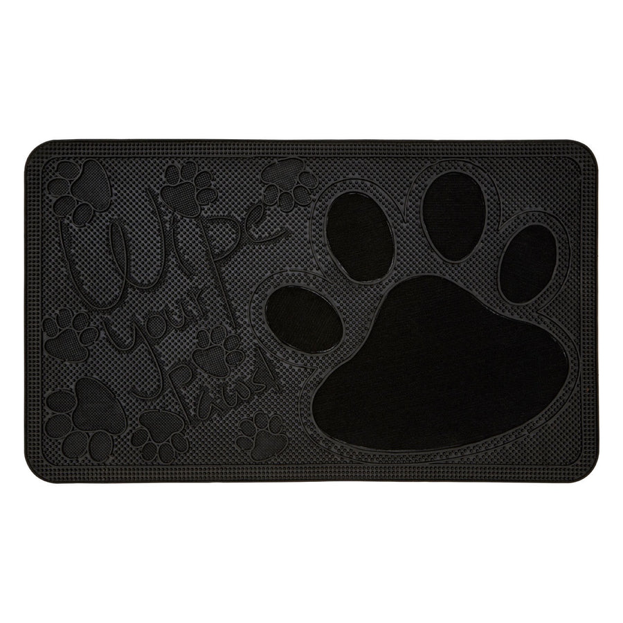 PREMIER WIPE YOUR PAWS RUBBER DOORMAT 75CM X 45C M - 1901750