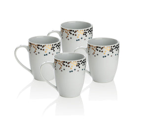 Sabichi 4pc Gatsby Mug Set- 181244 - Homely Nigeria