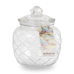 Sabichi 1400ml Embossed Sweet Jar- 185884
