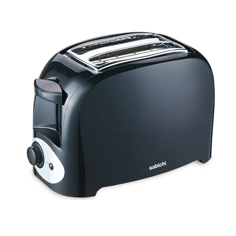 Sabichi Black 2 Slice Toaster - 171092