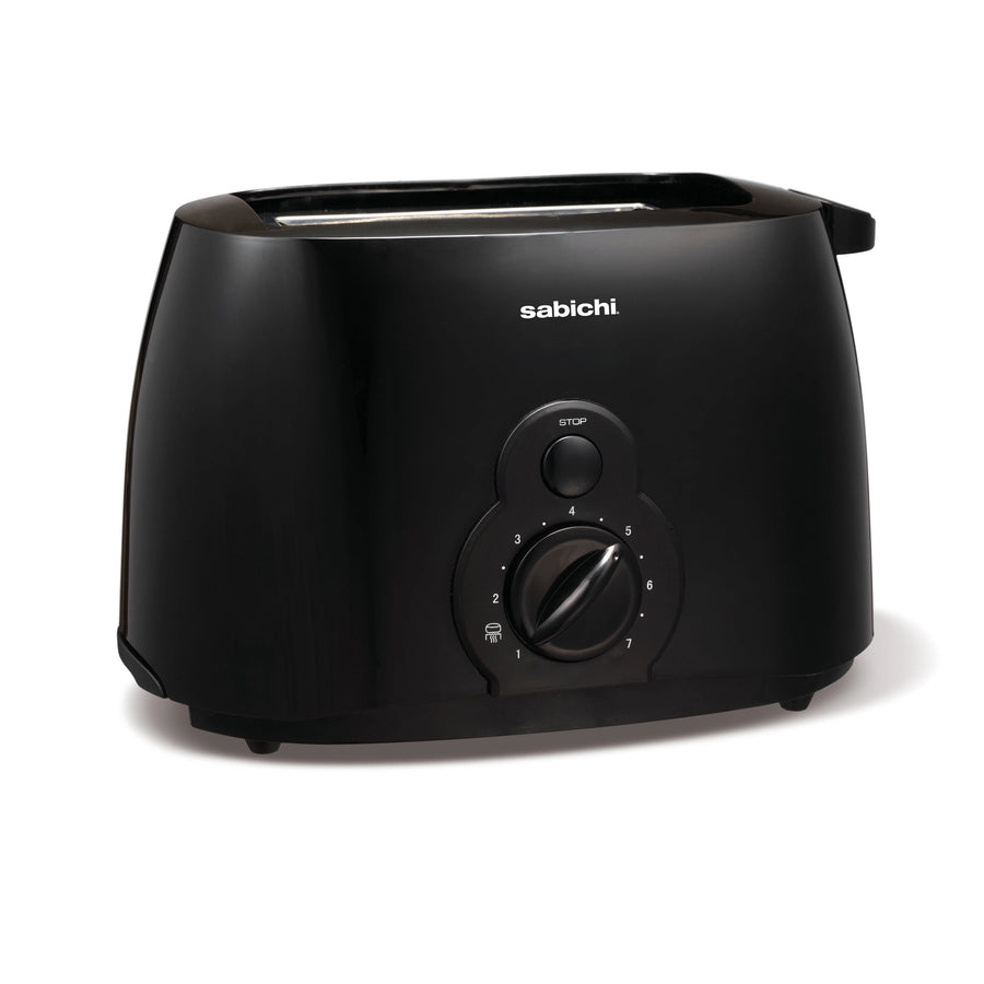 Sabichi 2 Slice Toaster Black Gloss - 94872