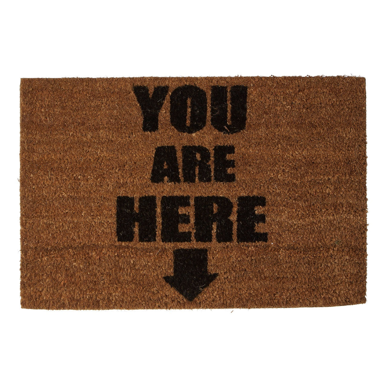 PREMIER YOU ARE HERE DOORMAT 60CM X 40CM - 1901655