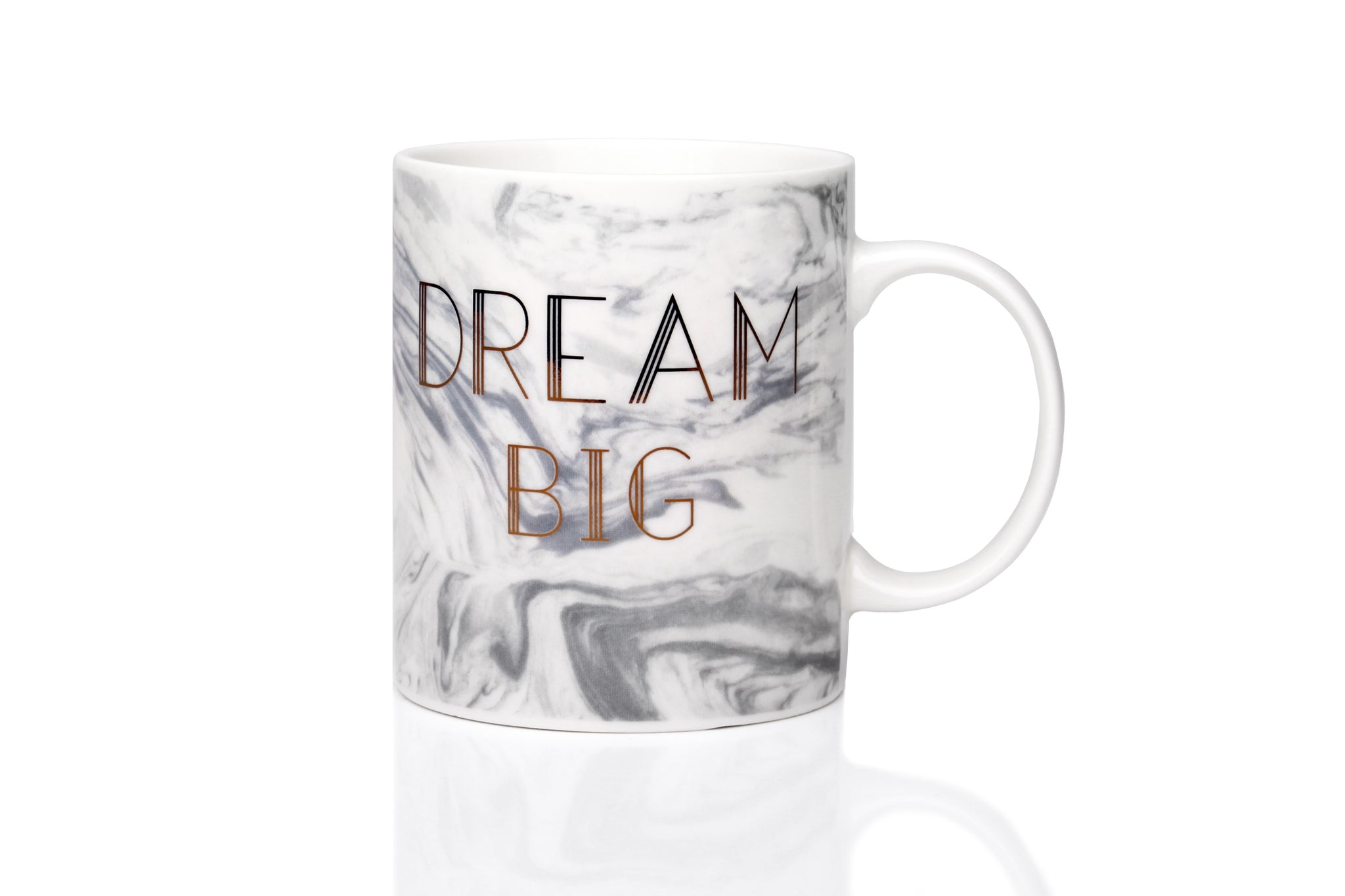 Sabichi Marble Dream Big New Bone China Mug - 190949
