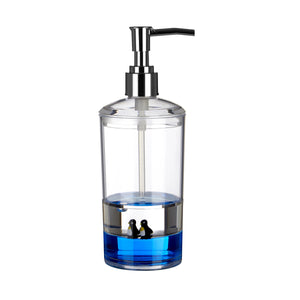 PREMIER ACRYLIC LOTION/SOAP DISPENSER W/ FLOATING
