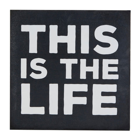 PREMIER THIS IS THE LIFE WALL PLAQUE 30 X 30 CM - 2800819
