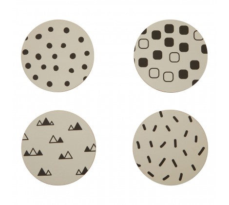 Premier Mimo Set Of 4 Eclectic All Sorts Coasters - 1203822