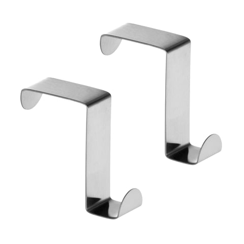 Premier Set of 2 Stainless Steel Over Multi Door Hook-0509693