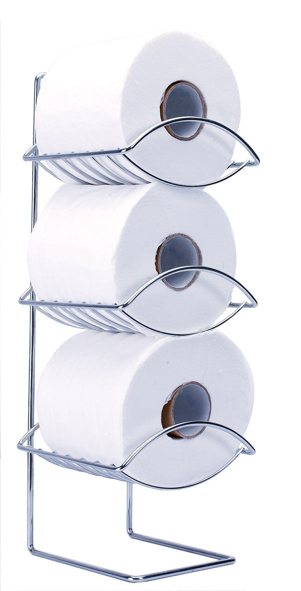 Sabichi Oceana 3-Tier Toilet Roll Holder-99150 - Homely Nigeria
