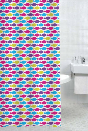 Sabichi Ecole Polyester Shower Curtain-165398 - Homely Nigeria