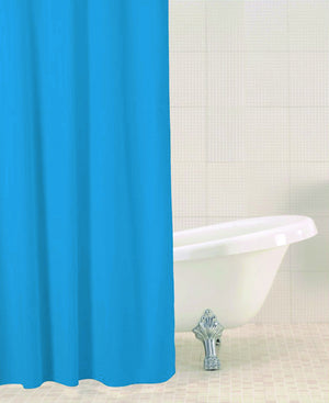 Sabichi Solid Colour Shower Curtain - Homely Nigeria - 1