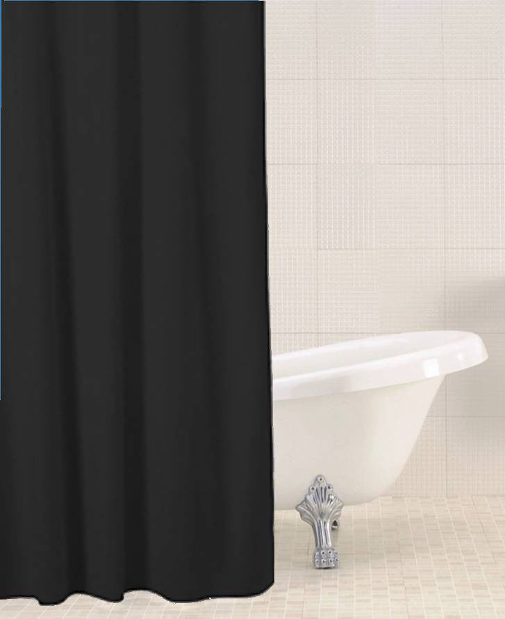 Sabichi Solid Colour Shower Curtain - Homely Nigeria - 2