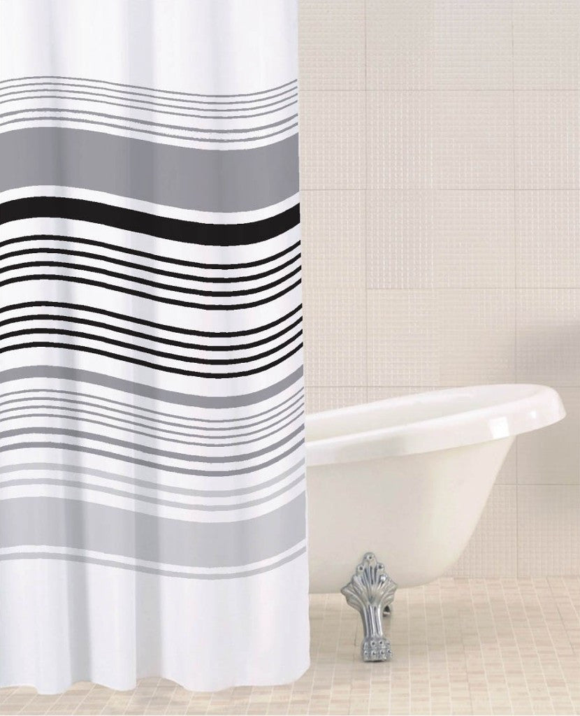 Sabichi Stripe Shower Curtain - Homely Nigeria - 1