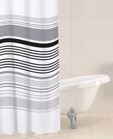Sabichi Stripe Shower Curtain