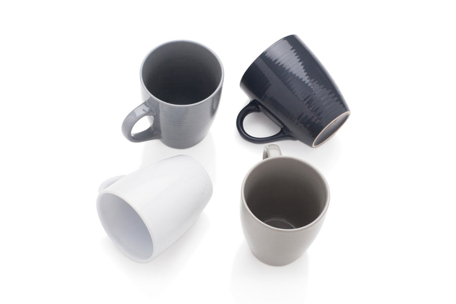 Sabichi Textured 4pc Value Mug Set - 178800