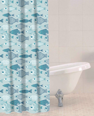 Sabichi Baby Fish Peva Shower Curtain- 179593