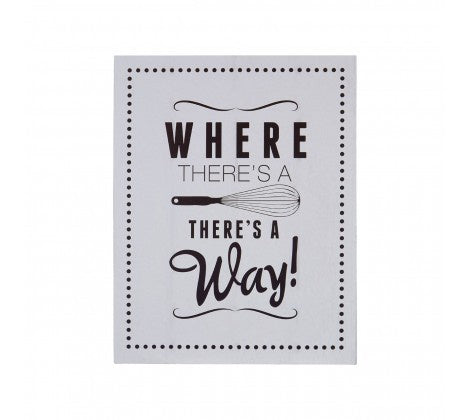 PREMIER WHERE THERES A WHISK WALL PLAQUE 20 X 25 - 2800771