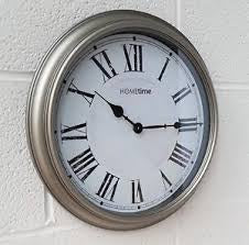 "Hometime Wall Clock Roman Dial 14"" - W7938"