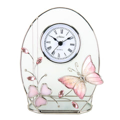 Hometiime Juliana Butterfly/Oval Clock-502CK2 - Homely Nigeria