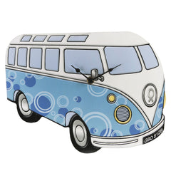 Hometime Clock Camper Van-Blue Design-W6488 - Homely Nigeria