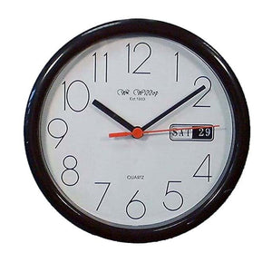 Wm.Widdop Day/Date Wall Clock - Homely Nigeria - 1