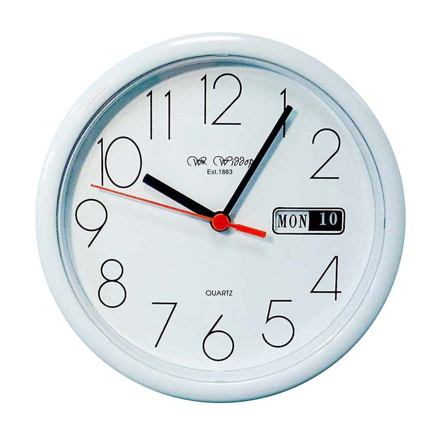 Wm.Widdop Day/Date Wall Clock - Homely Nigeria - 2