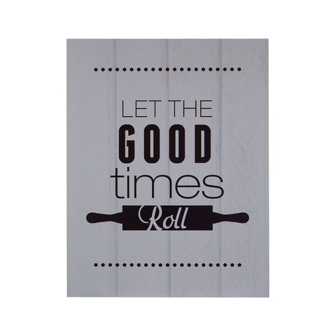 PREMIER LET THE GOOD TIMES ROLL WALL PLAQUE 20 X - 2800770