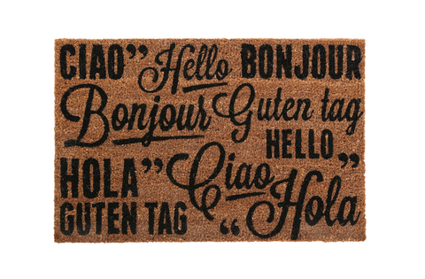 PREMIER GREETINGS DOORMAT 60CM X 40CM -1901350
