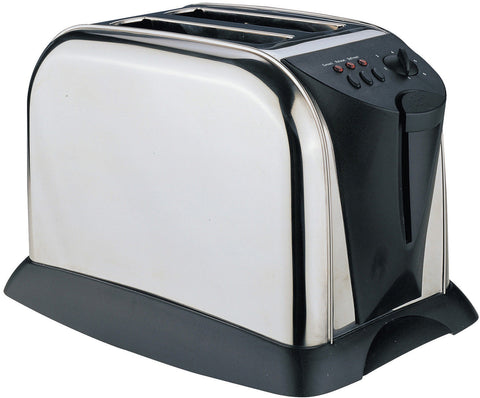 Sabichi Satin Finish 2 Slice S/S Toaster - 57495