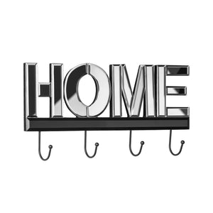 Premier Home Mirrored 4 Hook Wall Hanger-0509804