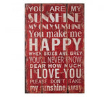 Premier You Are My Sunshine Wall Plaque-2800701