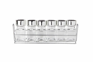 Sabichi 6Pcs Spice Rack & Jars- 173614 - Homely Nigeria