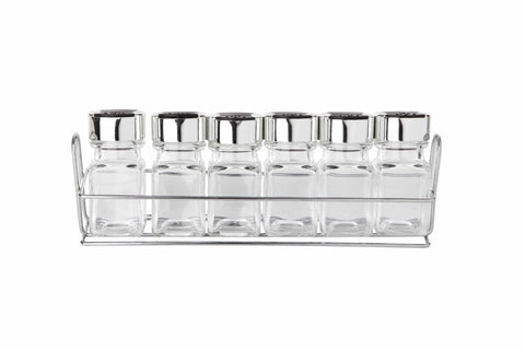 Sabichi 6Pcs Spice Rack & Jars- 173614