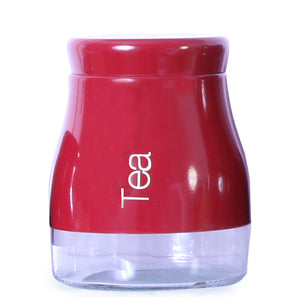 Sabichi Red Tea Canister-163868 - Homely Nigeria