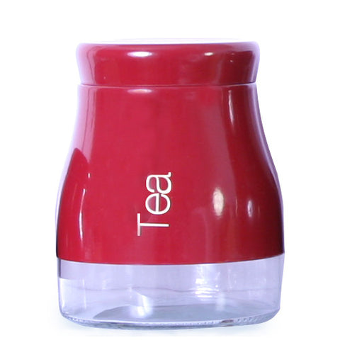 Sabichi Red Tea Canister-163868