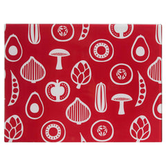 Premier 40x30cm Glass Chopping Board Besa - Homely Nigeria - 1