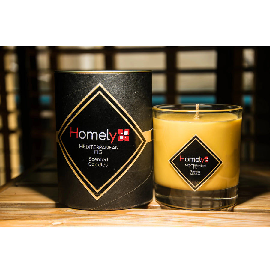 Homely Scents 200G Mediterranean Fig Candle