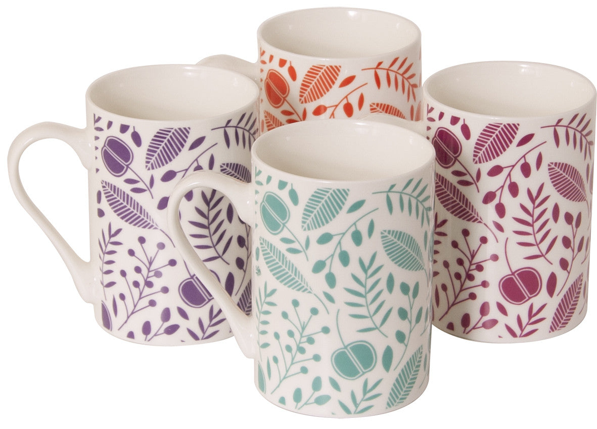 Sabichi 4pc Arabella Mug Set-149336 - Homely Nigeria
