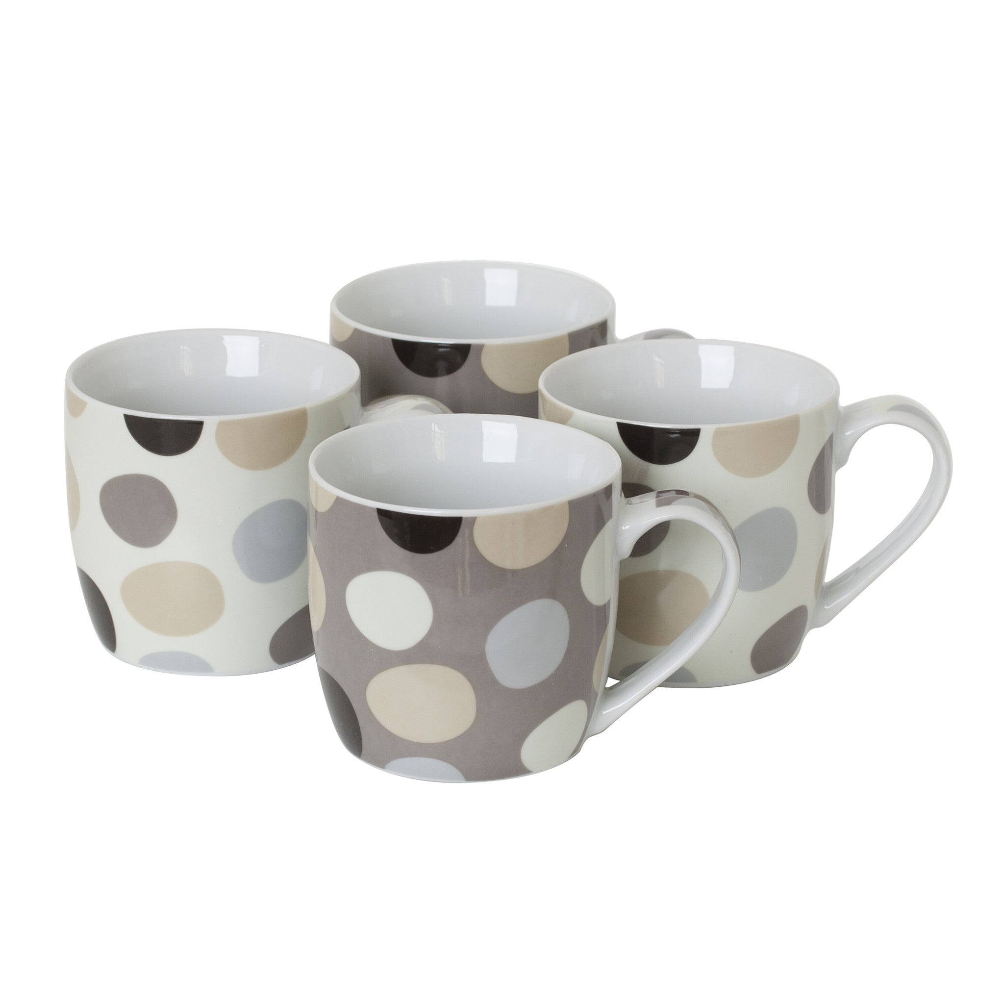 Sabichi 4pc Cobble Mug Set-107329 - Homely Nigeria
