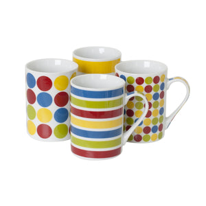 Sabichi 4pc Ludos Mug Set-107251 - Homely Nigeria