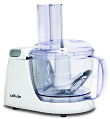 Sabichi White Compact Food Processor-92649 - Homely Nigeria