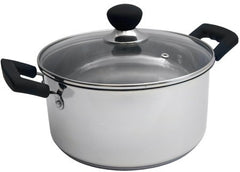 Sabichi 24cm Easy Grip Stockpot-83036 - Homely Nigeria