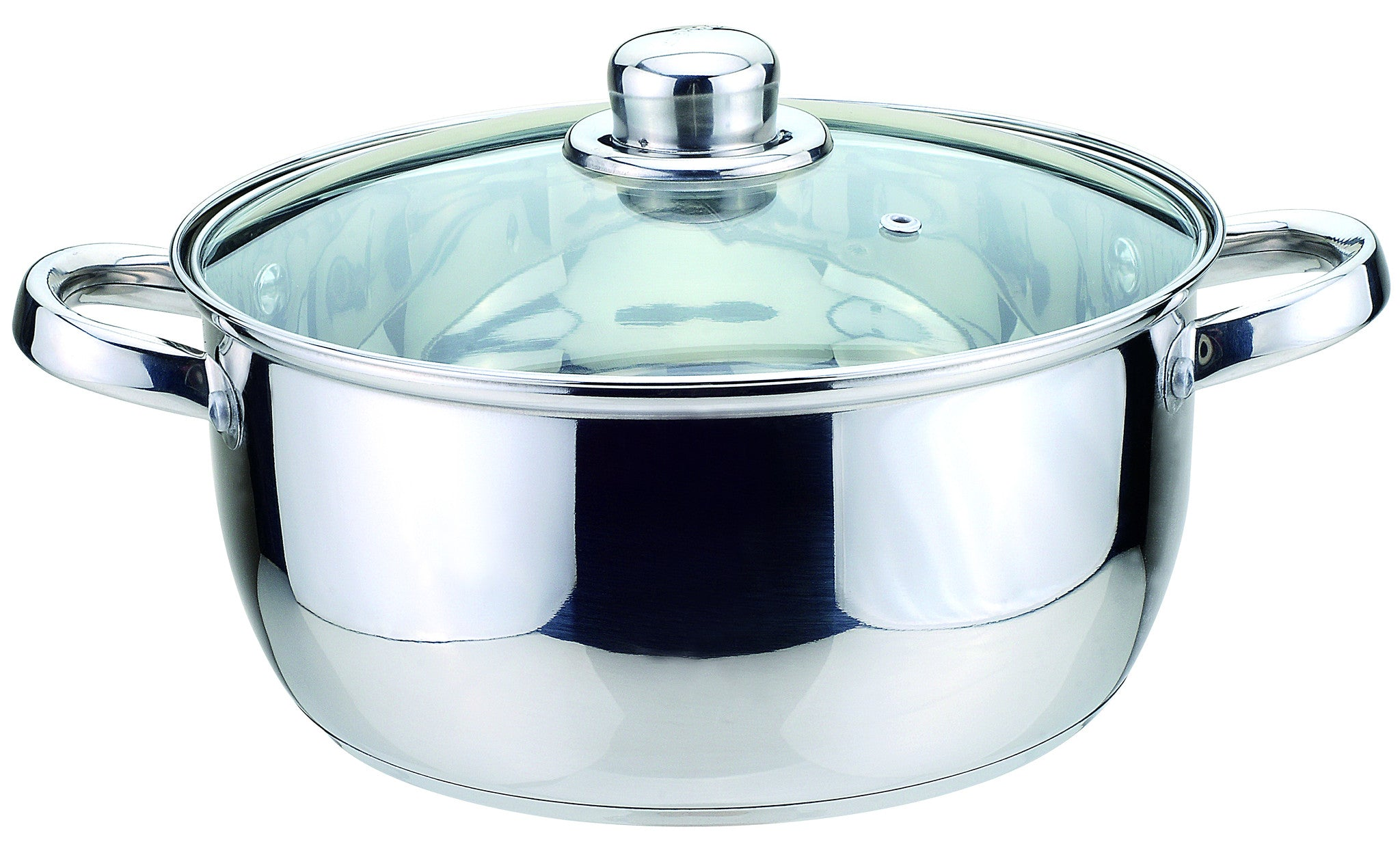 Sabichi 24cm Essential Casserole with Glass Lid-93783 - Homely Nigeria