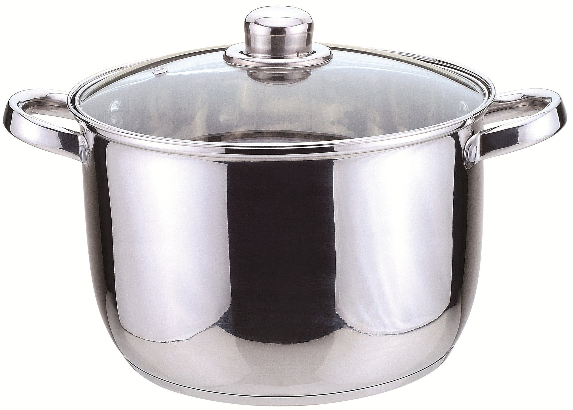 Sabichi 24Cm Essential Stockpot With Glass Lid-93790 - Homely Nigeria