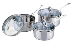 Sabichi 3pc Pan Set-83128 - Homely Nigeria