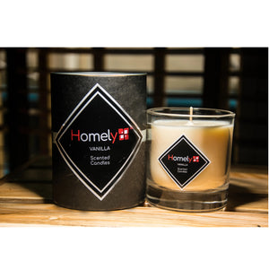 Homely Scents 200G Vanilla Candle