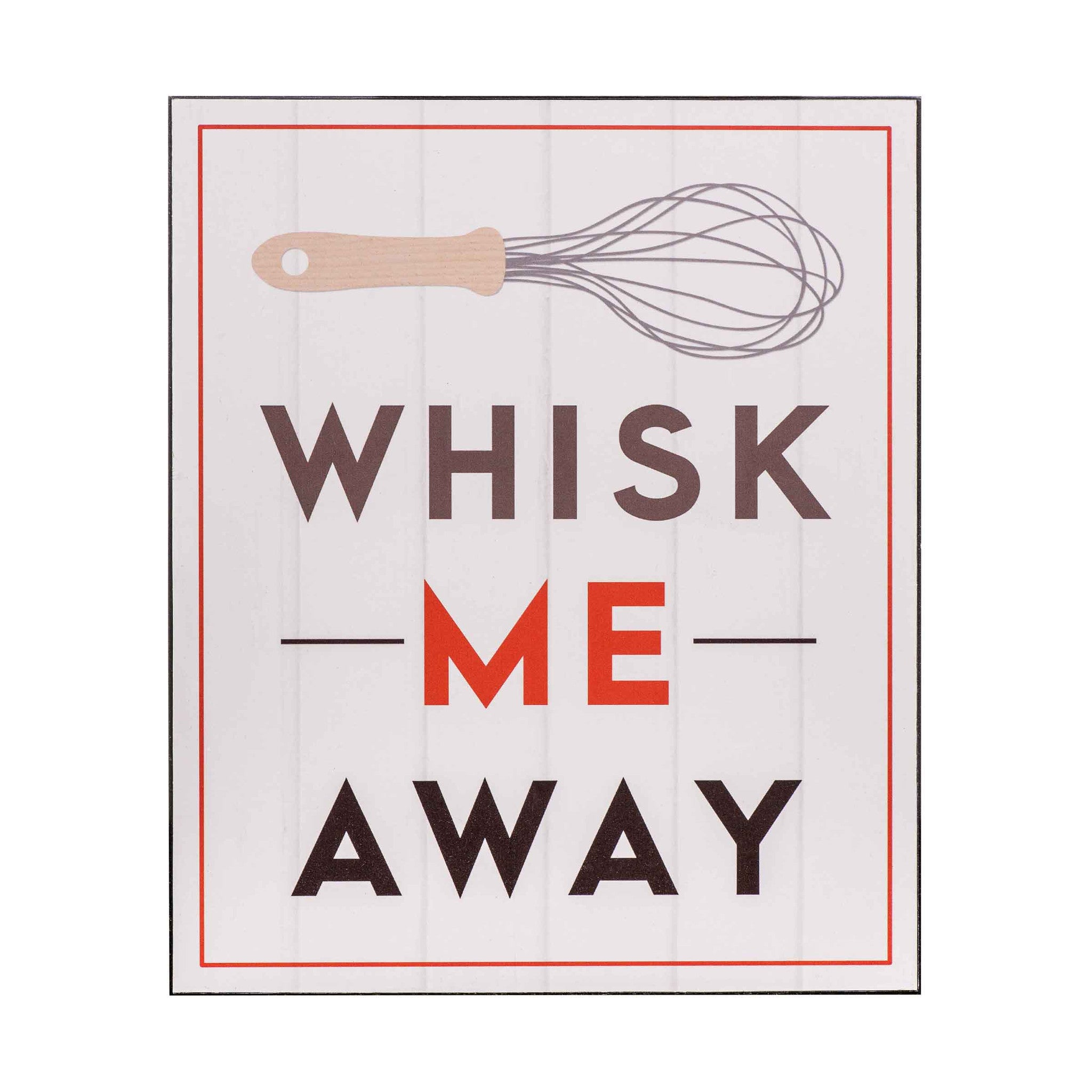 Premier 30x25cm Whisk Me Away Wall Plaque- 2800705 - Homely Nigeria