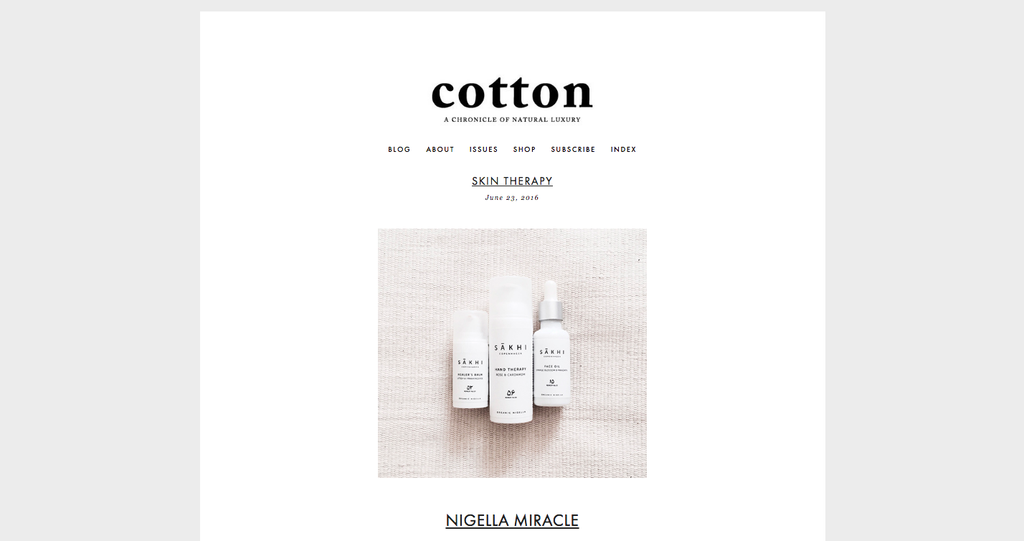 JUNE 2016 | BLOG | COTTON MAGAZINE