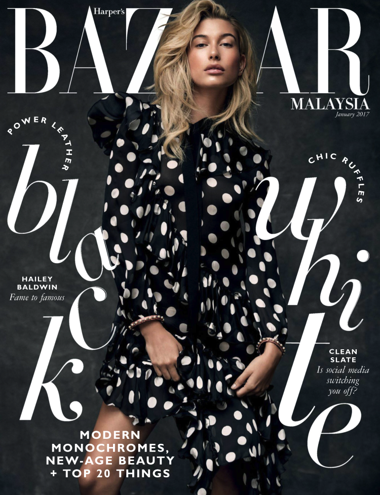 JANUARY 2017 | FEATURE | HARPER'S BAZAAR MY